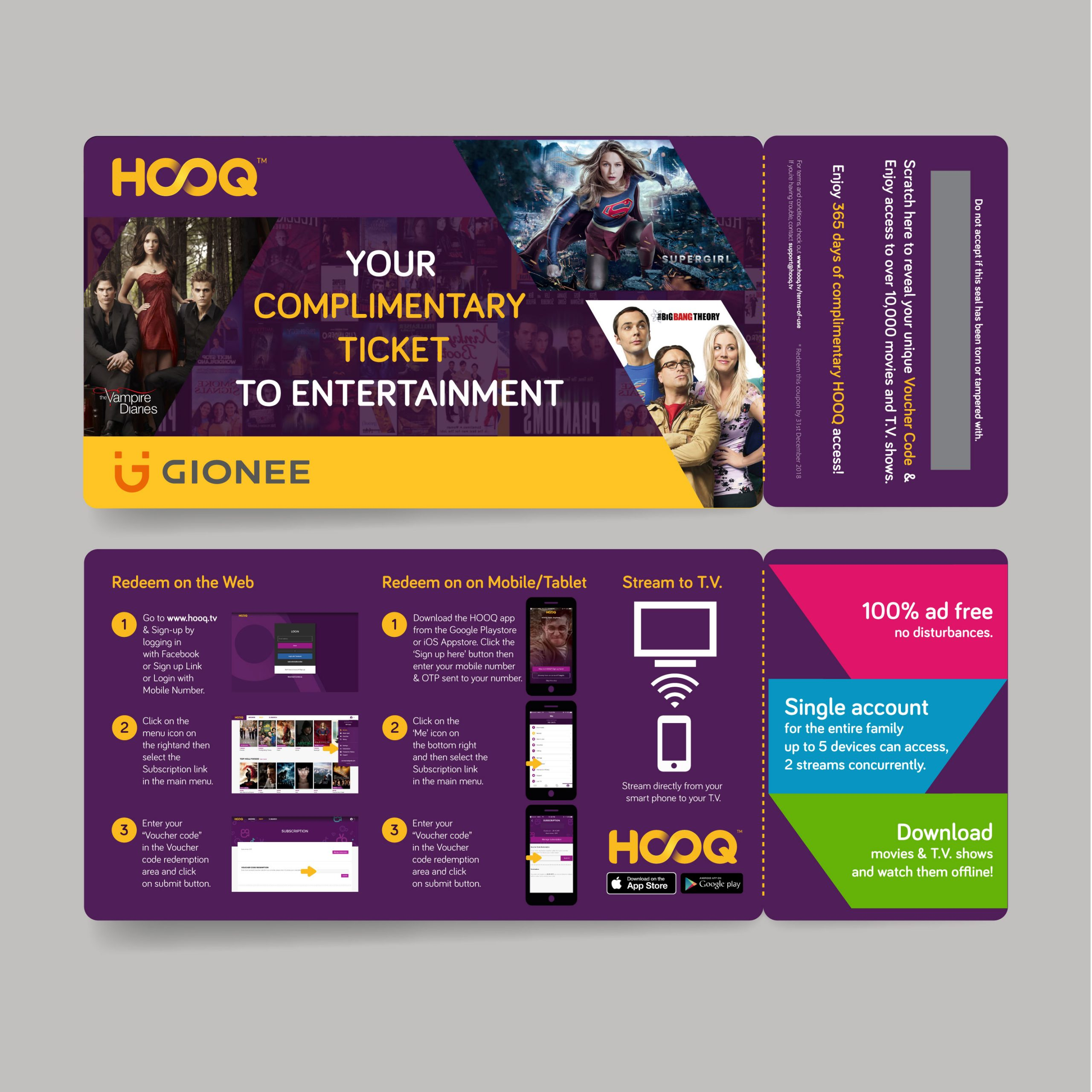 hooq_ticket_Gionee